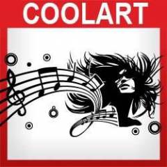 COOLART Duvar Sticker M�Z�K (st403)