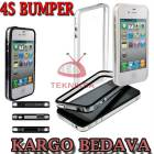 iPHONE 4S KILIF  BUMPER �ER�EVE KORUMA