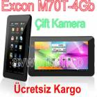 "Excon 7"" 1024x600p Tablet Pc �ift Kamera"