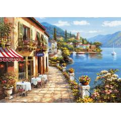 KS 1000 PAR�A PUZZLE OVERLOOK CAFE KS - 11143