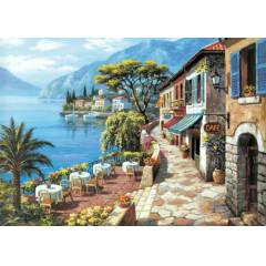 1000 PAR�A PUZZLE OVERLOOK CAFE -2  KS-11166