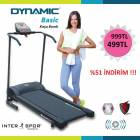 Dynamic BASIC E�imi Ayarlanabilen Ko�u Band�