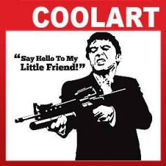 Coolart Duvar Sticker Scarface (st559)
