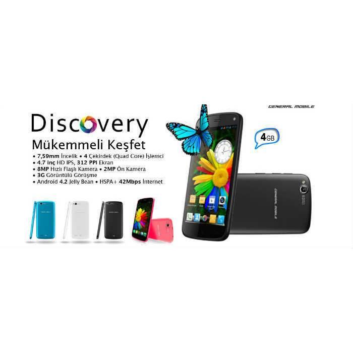 General Mobile D�scovery 4 GB