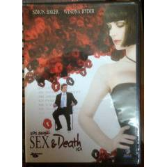 SEX & DEATH 101 - WINONA RYDER - DVD 2.EL