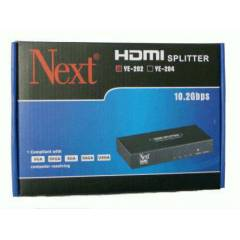 NEXT YE 204 1/4 HDMI SPLITTER