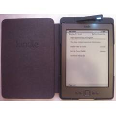 Amazon Kindle4 Modeli Orijinal Deri I��kl� K�l�f
