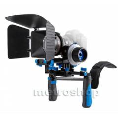 DSLR Rig Film Seti RL-02 + Followfoucs +Mattebox