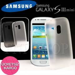 SAMSUNG GALAXY i8190 S3 Mini KILIF 0.2mm KAPAK