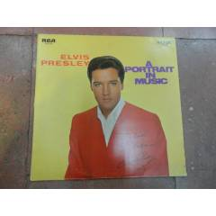 ELVIS PRESLEY / A PORTRAIT IN MUSIC LP....