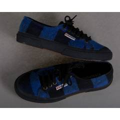 SUPERGA 2750-TWD1U BLUE BLACK
