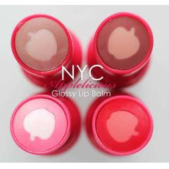 NYC APPLELICIOUS GLOSSY LIP BALM *CARAMEL APPLE