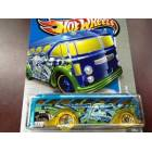 Hot Wheels Surf's Up Bus Hw City Otob�s