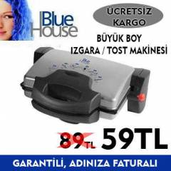 BlueHouse Bh415 B�y�k Boy Tost Makinas� / Izgara