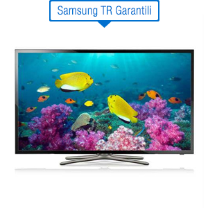 SAMSUNG 32F5570 SMART LED TV Uydu Al�c�l�, Dual Core, Wifi