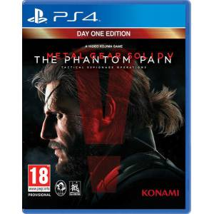 Metal Gear Solid 5 PS4 Phantom Pain Day One Edt