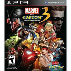 Marvel Vs Capcom 3 Fate Of Two Worlds Ps3 Oyunu