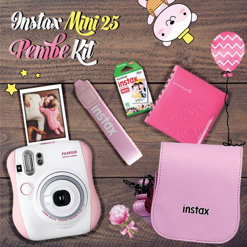 Fujifilm Instax Mini 25 Şipşak KİT