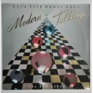 MODERN TALKING The 2nd Album Letss Talk About Love 2.el LP PLAK Alman Baskı