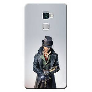 Huawei Mate S Kılıf HD Desen Baskılı Silikon Assassins Creed STK229