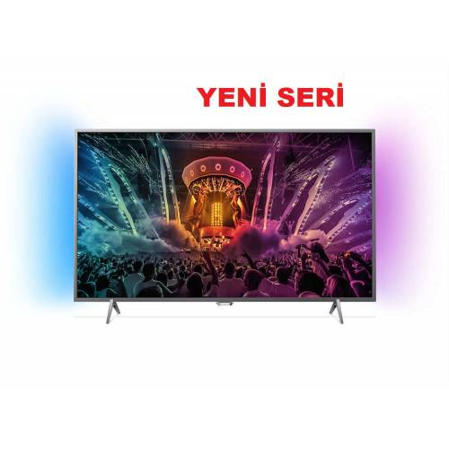 PHILIPS 55PUS6401 ULTRA HD 4K İNCE ANDROİD 1000PPİ LED TV