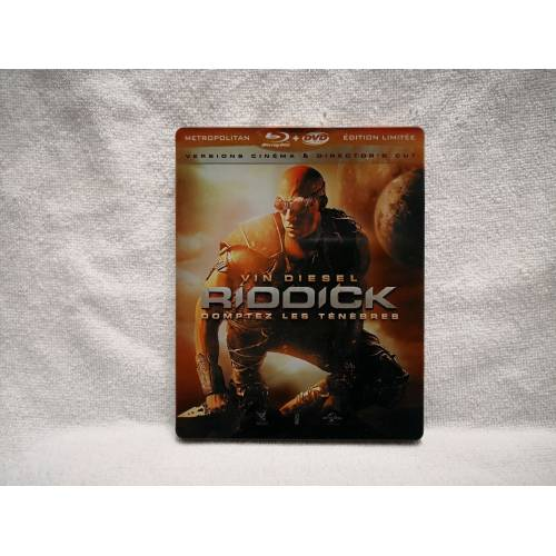 Riddick Rule The Dark Bluray Steelbook 2 Disk 275858121