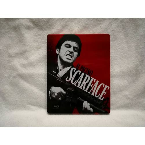 Scarface - Yaralı Yüz Bluray Steelbook Limited Edition 3 Disk 275866471