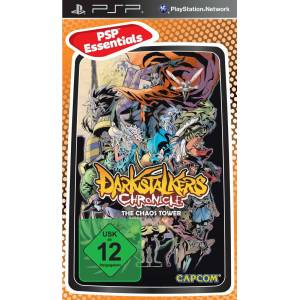 Darkstalkers chronicle the chaos tower PSP