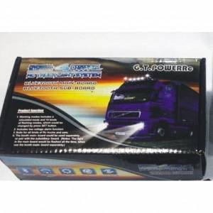 GTPOWER P109 PROFESSIONAL BLUETOOTH 4-CHANNEL RC TRUCK LIG