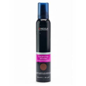 Indola Color Style Mousse Koyu Kumral 200 ml