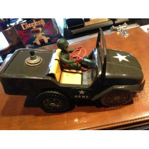 TampT MASUDAYA MODERN TOYS JAPAN TENEKE JEEP
