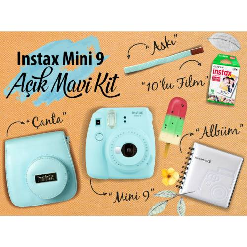 Fujifilm Instax Mini 9 Şipşak KİT