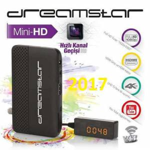 Dreamstar DreaMini FULL HD MINI Uydu Alıcısı  USB MEDİA PLAYER