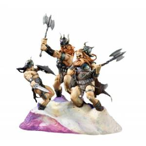 Dark Horse Frank Frazetta Conan & Snow Giants Statue