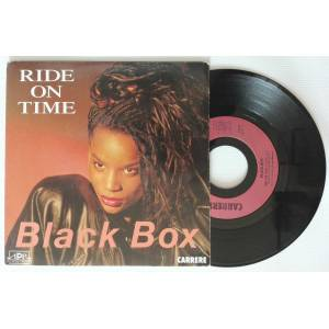 Black Box Ride On Time 2.el 45 LİK PLAK