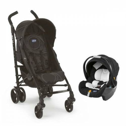 Chicco Lite Way Plus Travel Sistem Bebek Arabası CHC-607930320-NGH Siyah