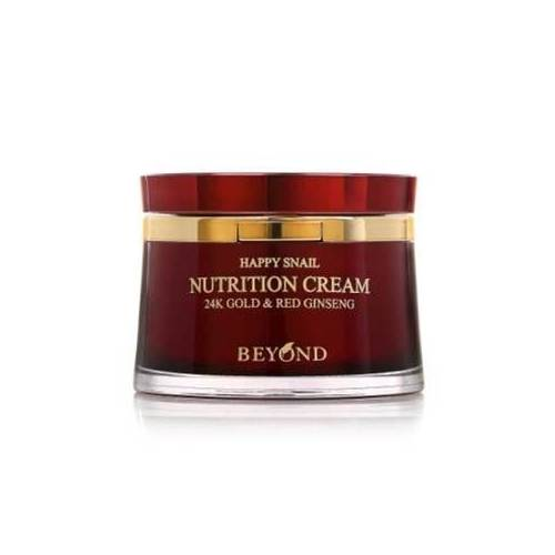 Beyond Happy Snail Nutrition Cream 24K Gold & Red 50 ml.