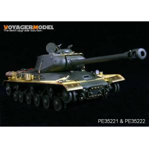 135 ölçek Voyager Model PE 35221 WWII Russian JS-2 Tank Basic Photoetched Tamiya