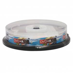 DVD-R 16X 47GB 10LU CAKE BOX