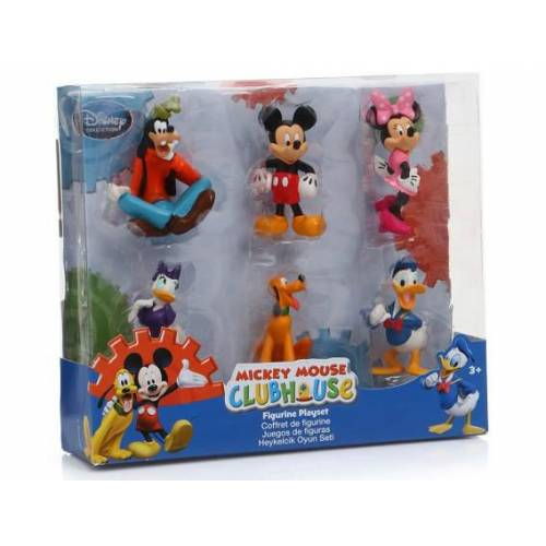 DISNEY COLLECTION DC MICKEY CLUBHOUSE 1187 MM CLUBHOUSE FIGURE SET