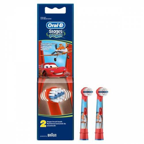 Oral-B Stages Power Diş Fırçası Yedeği 2li Paket (THE CARS)