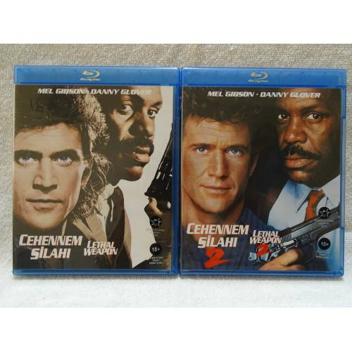 Lethal Weapon Quadrilogy - Cehennem Silahı Set Bluray TİGLON 316813473