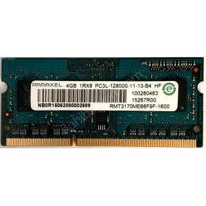 4Gb RAMAXEL PC3L DDR3L 1600Mhz 12800S 1.35V LOW VOLTAGE LAPTOP NOTEBOOK NETBOOK RAM NO 2