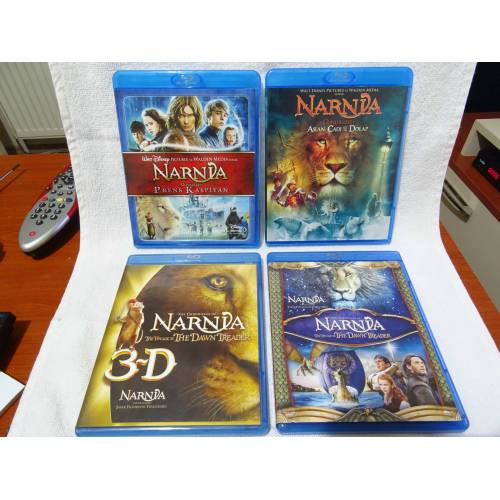 The Chronicles of Narnia Trilogy - Narnia Günlükleri Serisi Bluray Tiglon 321725419