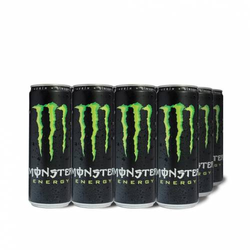 Monster Green, 335 ml Kutu, 12'li Paket