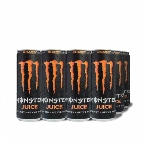 Monster Khaos, 335 ml Kutu, 12'li Paket