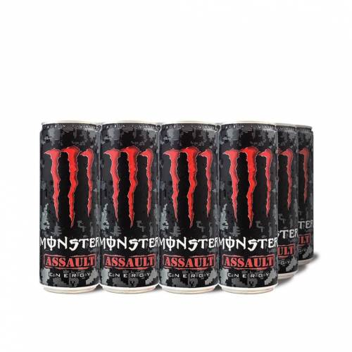 Monster Assault, 335 ml Kutu, 12'li Paket