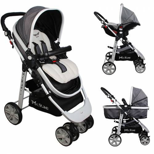 McRae MC-500 Premium Trio Travel Sistem Bebek Arabası 325716541