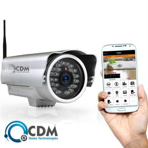 CDM Home Technology OutDoor IP Camera CAM IP10035 HD Dış Mekan ip kamera