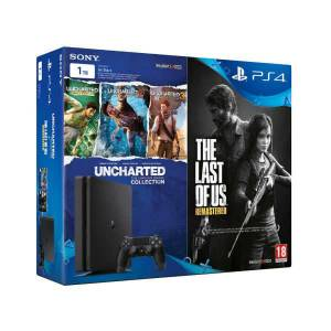 SONY PLAY STATION PS4 1TB The Last Of Us + Uncharted Collection